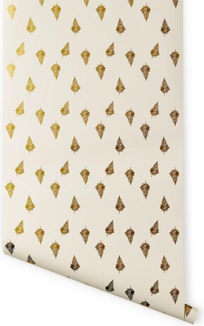 Ferns Wallpaper contemporary-wallpaper
