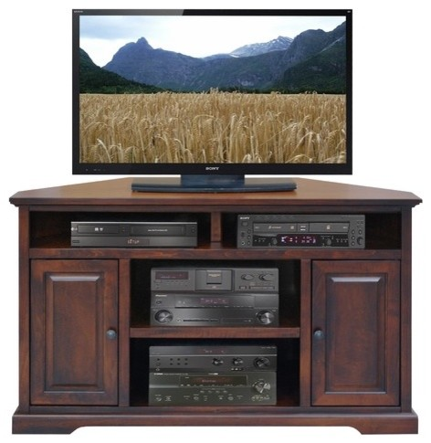 "Brentwood 56"" Corner TV Stand - Modern - Entertainment Centers And Tv ..."