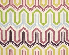 Claridge Squiggle Jacquard Oasis Fabric modern-fabric