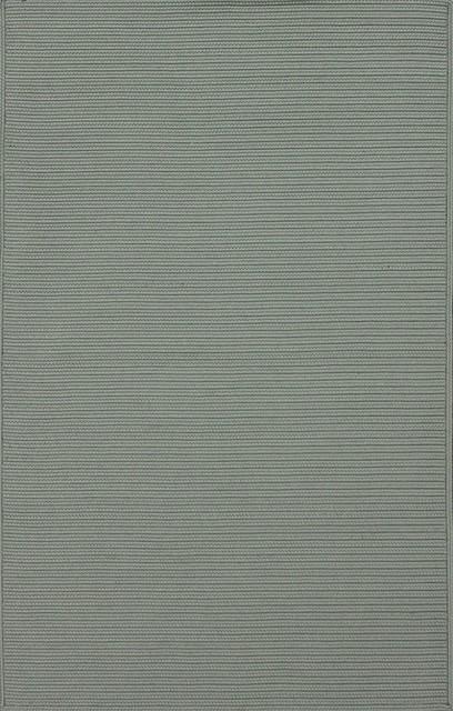 Indoor/Outdoor Veranda 5'x8' Rectangle Gray Area Rug contemporary-outdoor-rugs
