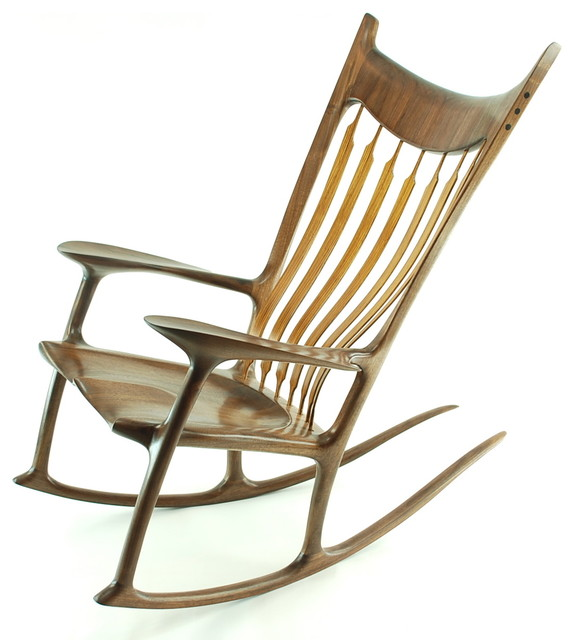 Modern Interior Most Comfortable Rocking Chairs