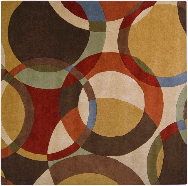 Campbell Laird FM7108-8SQ Forum Contemporary Hand Tufted Wool Rug contemporary-rugs