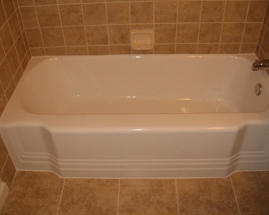 Bathtub & Tile Refinishing - Bathtub Refinishing - New Tile