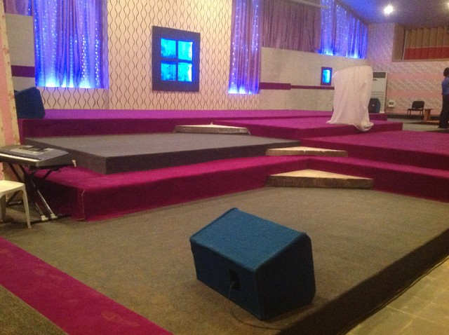 Church Stage Design Ideas. - Contemporary - other metro - by Justadial ...