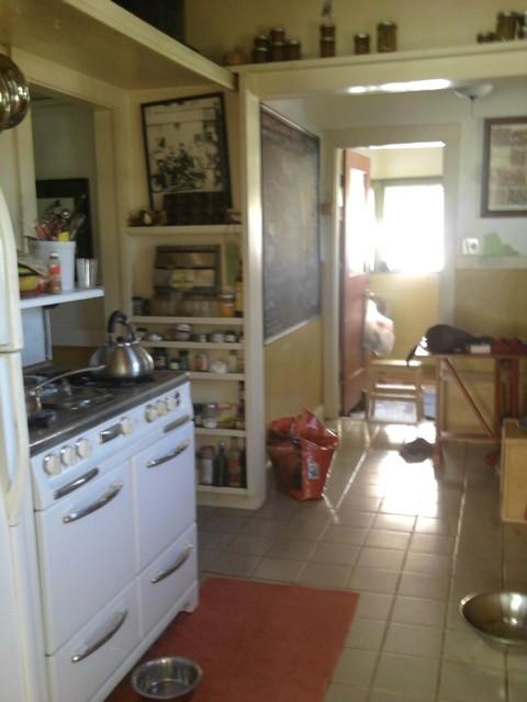 $5,000 DIY 1920s bungalow kitchen remodel