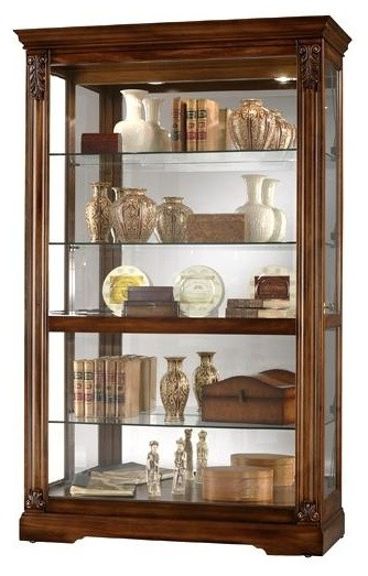 Howard Miller - Ramsdell Curio Cabinet - Contemporary - Storage Cabinets - by ShopLadder