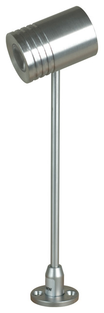 Jesco SP215LEDS1240 SP 215 - Wally - Adjustable LED Spot with Straight Stem contemporary-lighting