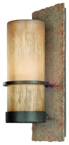 Bamboo Outdoor Wall Sconce by Troy Lighting contemporary-outdoor-lighting