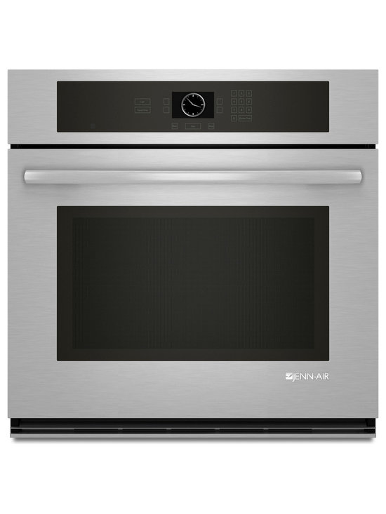 """Jenn-Air 30"""" Single Electric Wall Oven, Display Stainless/blk 