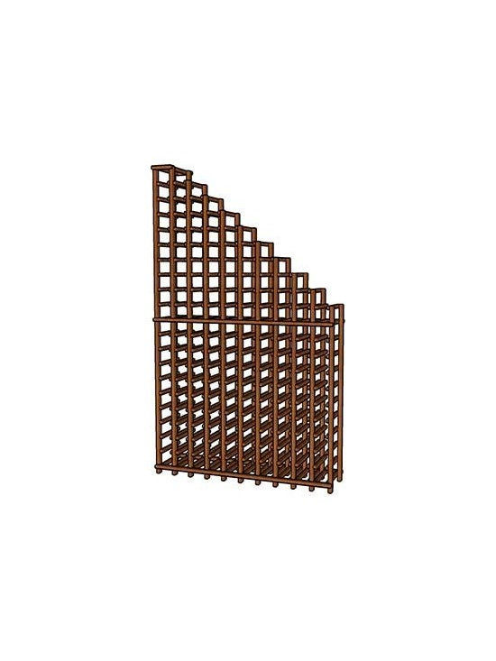 WineRacks.com Premium Series Waterfall - Cascading style rack stores 164 bottles