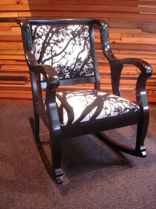 Rocking chair (Marimekko fabric) - Anne Thompson