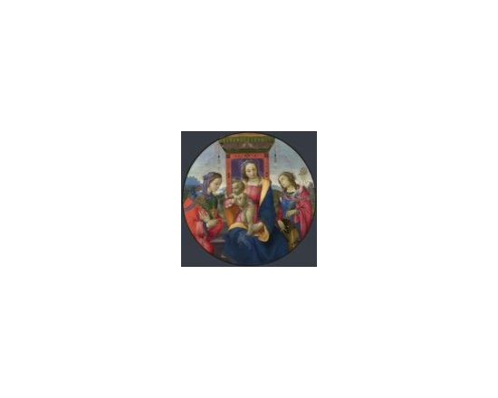 Mother Of God - virgin and child with saints canvas prints available at canvaschamp.com in USA