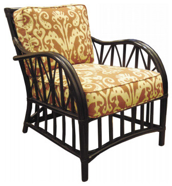 Campaign Lounge Chair traditional-armchairs-and-accent-chairs