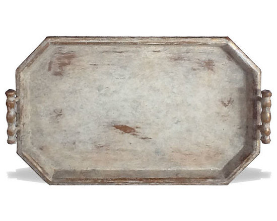 Accessory Trays - This accessory tray features a simple distressed design and is available in a variety of finishes. See more at a local Houston showroom!