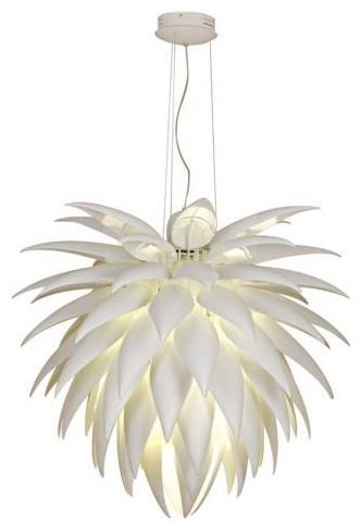 Possini Euro Design Icicle Leaf Chandelier   Lamps Plus contemporary-ceiling-lighting