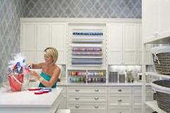 306 Orchid / Wow love the cabinets and the wrapping station - office/craft