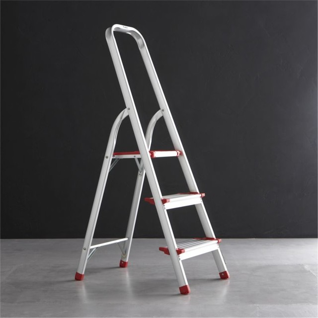 Polder 3 Step Ladder Modern Ladders And Step Stools