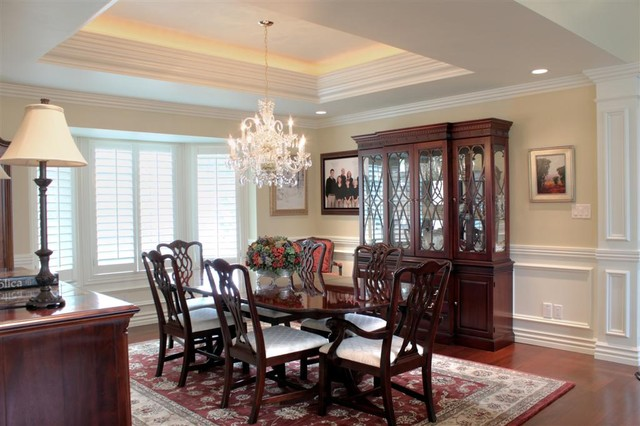 traditional dining room by Renovation Design Group