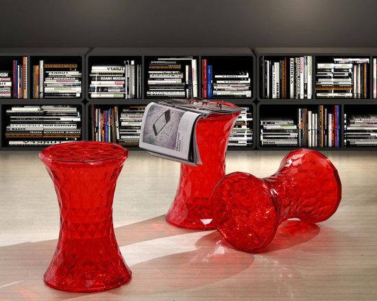 Pryce Stool : colorful acrylic stool & side table -