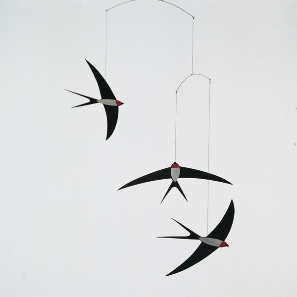 Swallow Flight Mobile contemporary mobiles