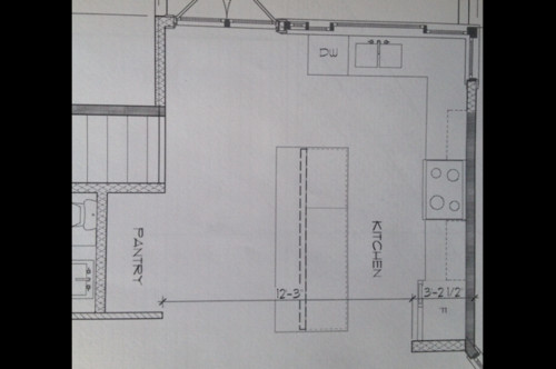 pantry thanks ps the drawing shows the space where the u shaped pantry ...