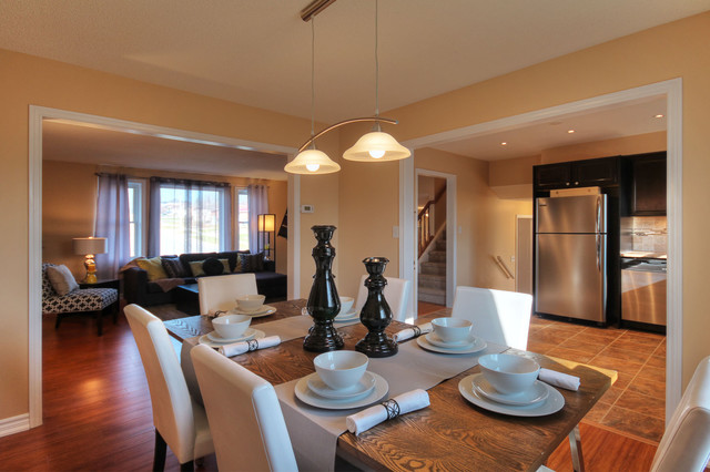 Home Staging After Photos contemporary-dining-room