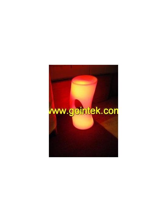 square lighting stool -