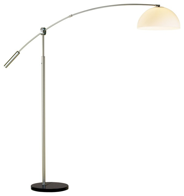 Outreach Arc Lamp Contemporary Floor Lamps By Inmod