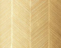 Chevron Texture in White Gold Wallpaper modern-wallpaper