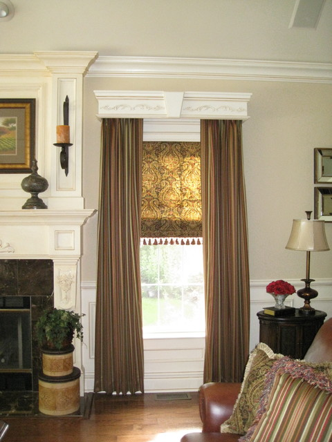 Custom Drapes  window treatments
