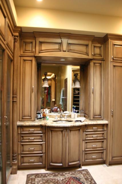 Mario Aldape mediterranean-bathroom-vanities-and-sink-consoles