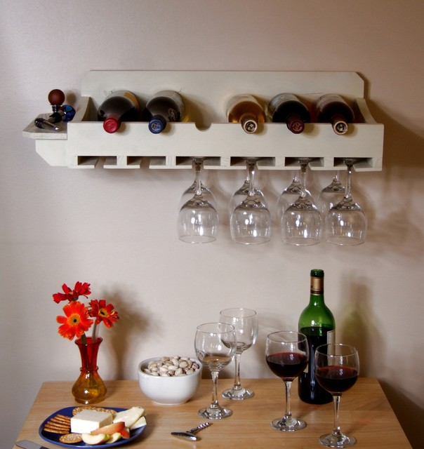 Wall Mounted Win Rack Eclectic Wine Racks Birmingham