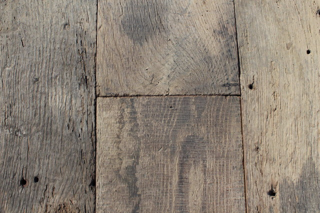 Rustic Planks Made Of Antique Reclaimed French Oak