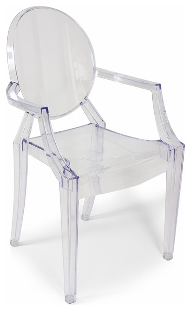 Stilnovo Clear Acrylic Ghost Chair Contemporary Dining Chairs By Matthe