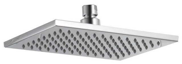 "Delta RP62955 Chrome  8-5/8"" Rain Shower Head with Touch Clean contemporary-showerheads-and-body-sprays"