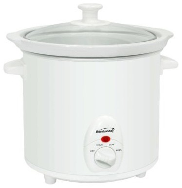 Brentwood SC-135W 3 qt. Slow Cooker modern-gas-ranges-and-electric-ranges