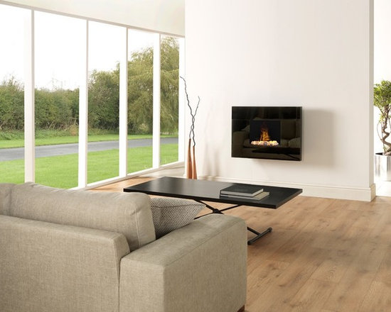 Dimplex Tate surface-mounted Optimyst fireplace - Jeanne Grier/Stylish Fireplaces & Interiors