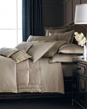 Donna Karan Home Modern Classics Linens Modern Classics Spiral Silk Pillow traditional-bed-pillows