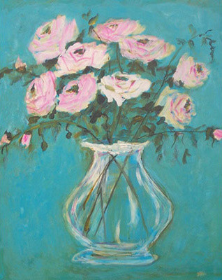 Susan Brown Fine Art Aqua Painting traditional-artwork