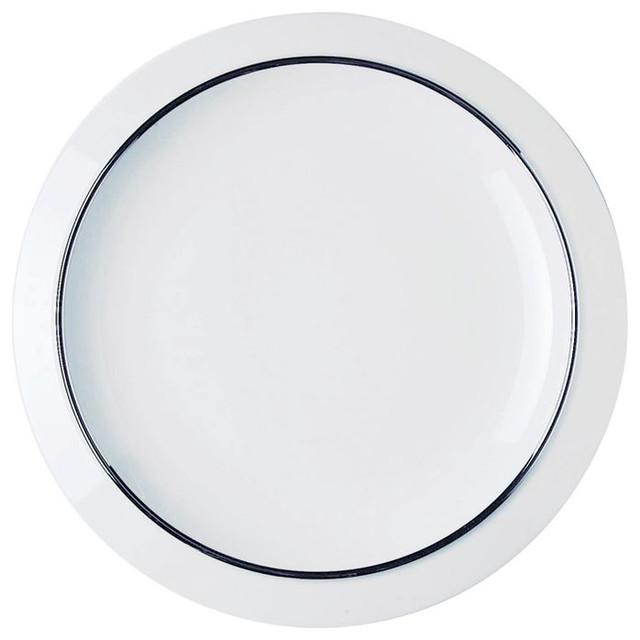 Alessi dinnerware filetto dining plate modern dinner - Alessi dinnerware sets ...