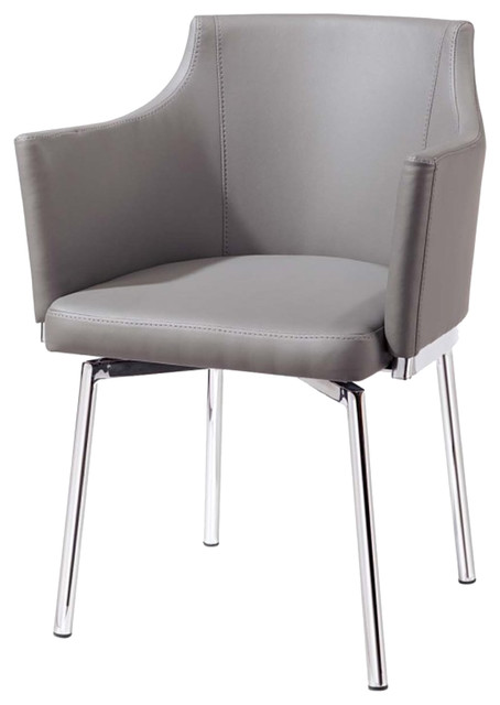 Royal Swivel Arm Chair contemporary-armchairs-and-accent-chairs