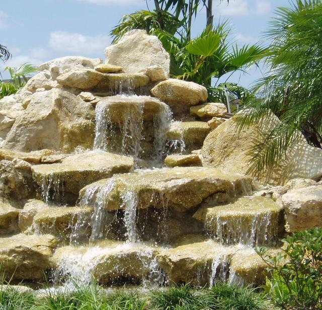 Waterfalls Florida Cap Rock Tropical Landscape Other