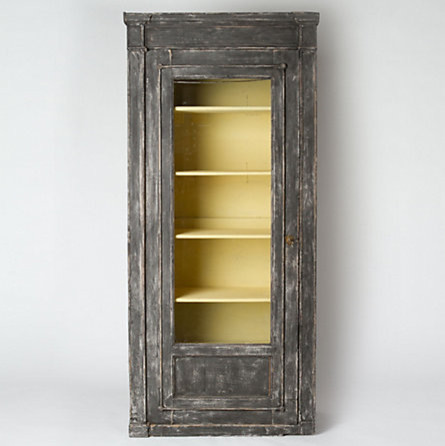 Wood And Glass Cabinet - Traditional - by Terrain