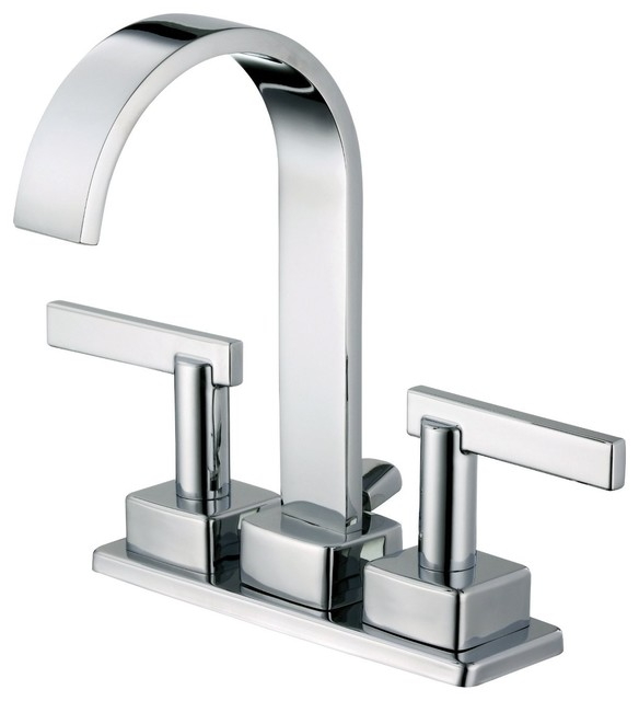 ... Lavatory Bathroom Sink Faucet in Chrom - Contemporary - Bathroom Sink