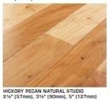 Hickory Tongue and Groove Hardwood Flooring contemporary-wood-flooring