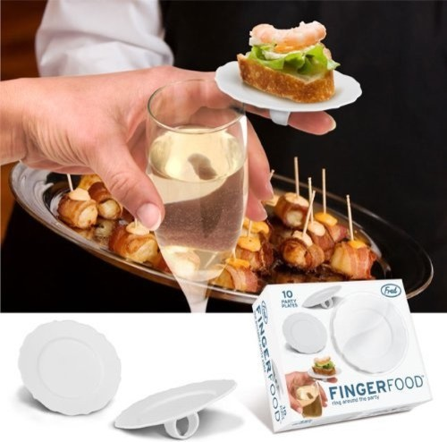 Fingerfood Ring Plate By Ken Goldman eclectic-serveware