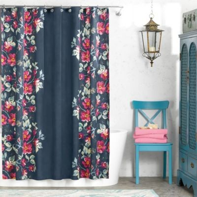 Anthology Penelope 72-Inch x 72-Inch Shower Curtain contemporary-curtains