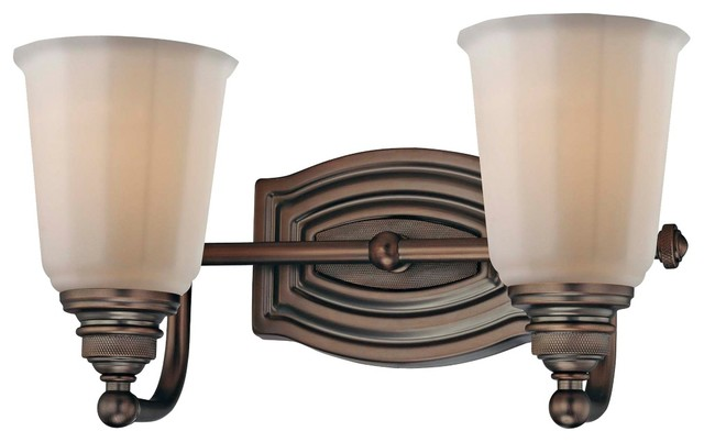 "Contemporary Minka Clairemont Bronze 13"" Wide Bathroom Wall Light traditional-bathroom-lighting-and-vanity-lighting"