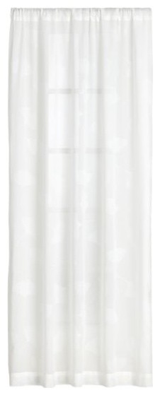 Marimekko Biloba Sheer 50x63 Curtain Panel modern-curtains