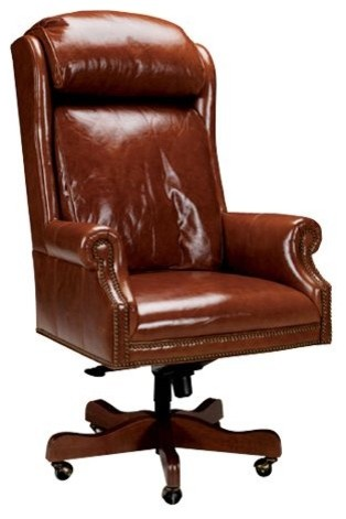 Marshall Desk Chair Traditional Task Chairs By Ethan Allen